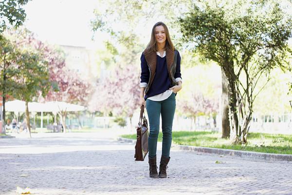 miss tangerine jacket sweater shirt pants shoes bag jewels