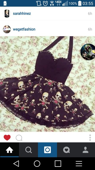dress skull