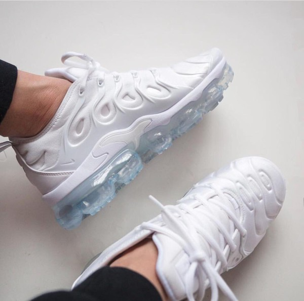 27e9ce19602 Look Out For The Nike Air VaporMax Plus Triple White This Nike Air