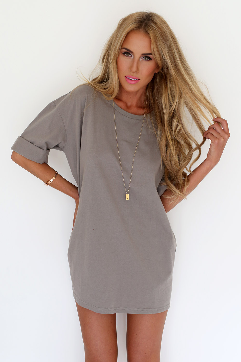 5cac81624089 Buy Mocha Tee Dress Online by SABO SKIRT