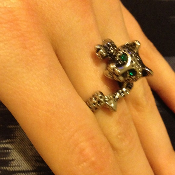 50% off  Jewelry - Leopard wrap ring from Anna's closet on Poshmark