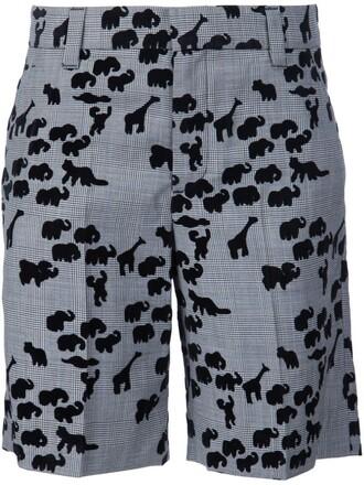 shorts animal black