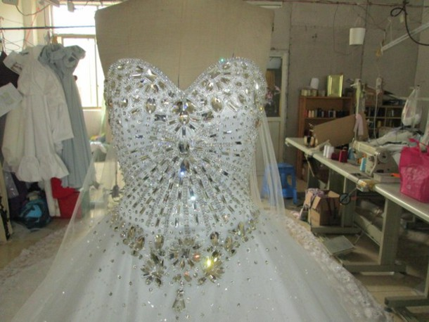 Wedding Gowns With Bling: Dress: Sissi Wedding Dress, Evening, Wedding Dress, Bling