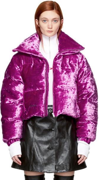 Misbhv jacket down jacket pink