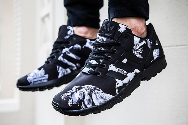 chaussures adidas zx flux lion