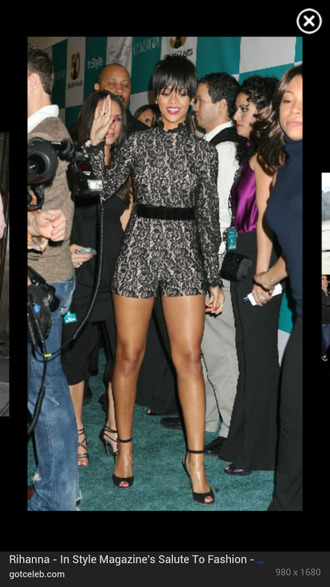 blouse rihanna romper jumper jumpsuit one piece