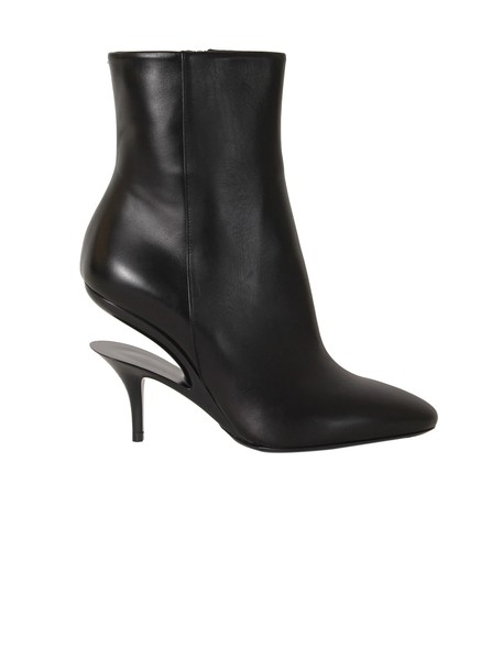 MAISON MARGIELA cut-out booties black shoes