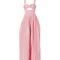 Rosie assoulin webster x lane crawford jumpsuit - pink cotton jumpsuit