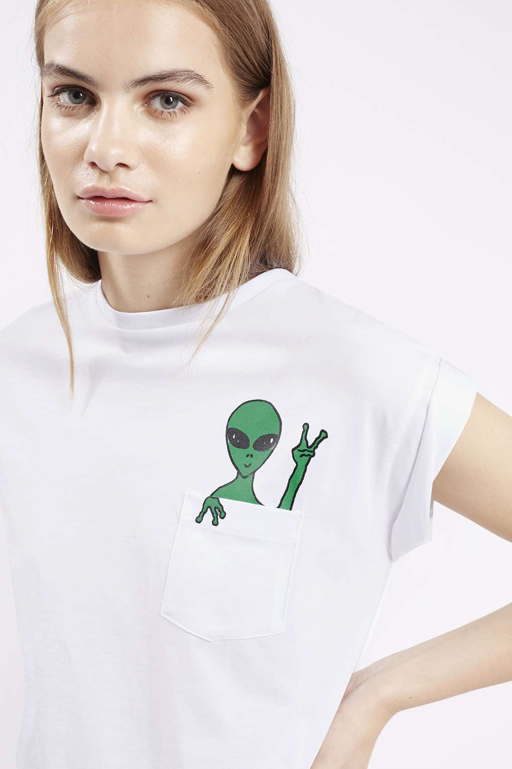 Alien Tee By Tee and Cake Topshop