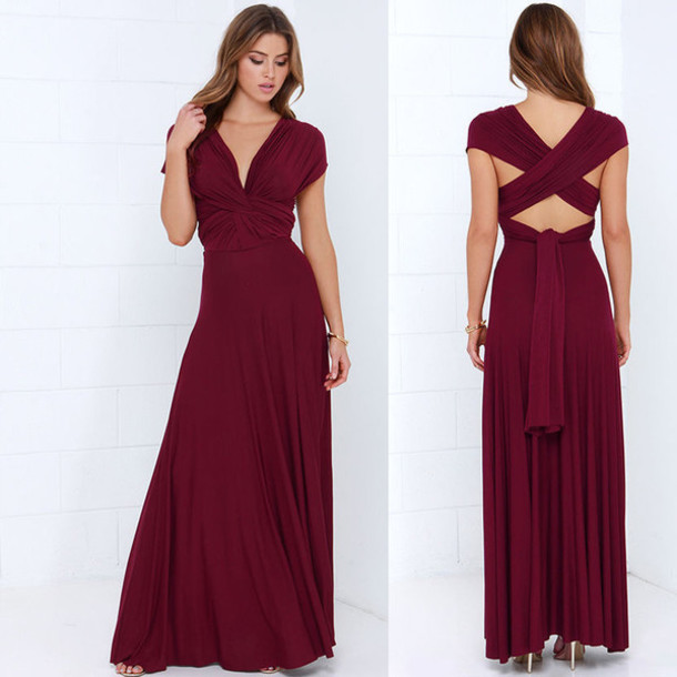 Dress Long Dress Maxi Dress Women Dress Bandage Dress Wrap