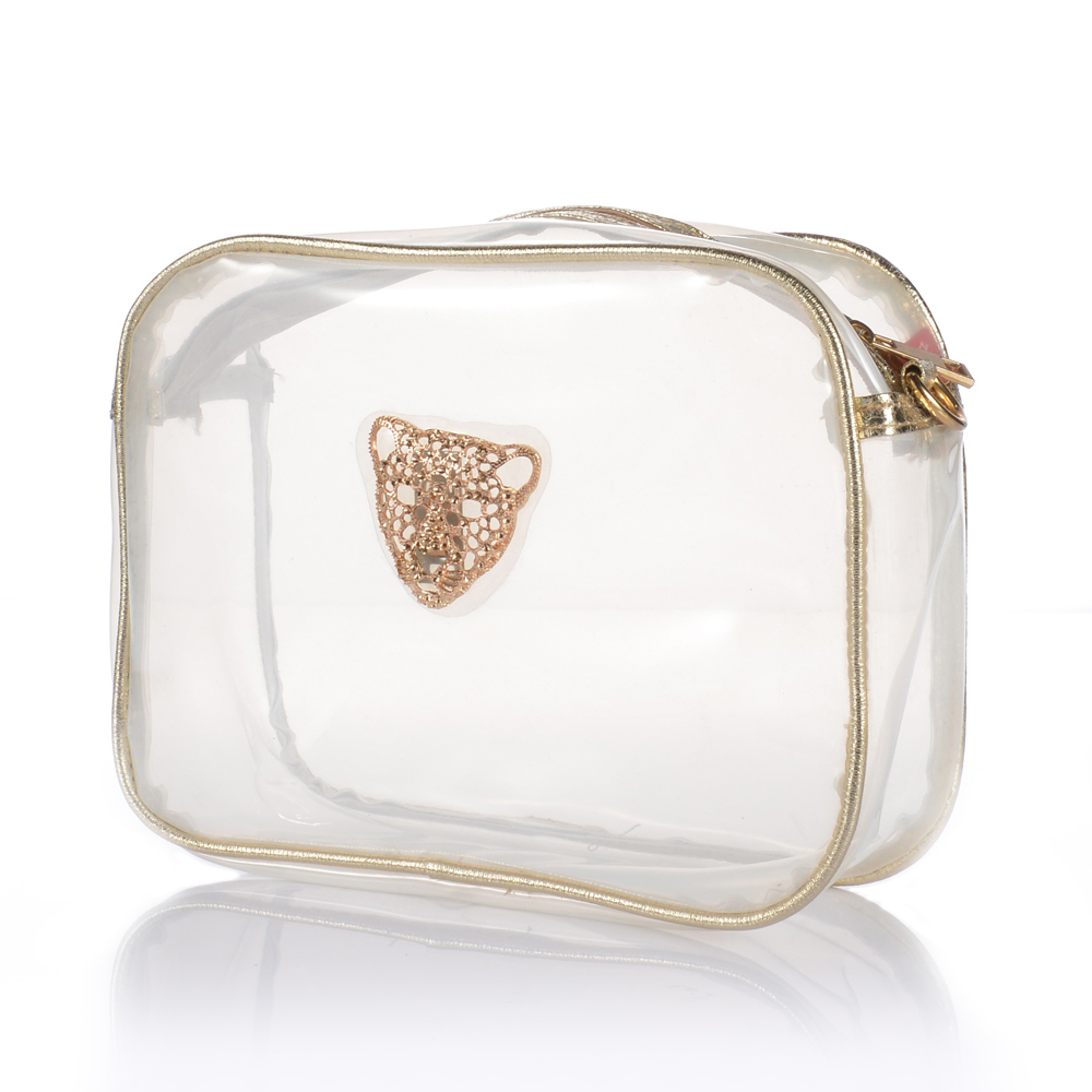Clear Pvc Shoulder Bag 109