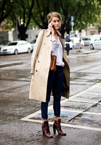 high heels low boots garance dore brown shoes