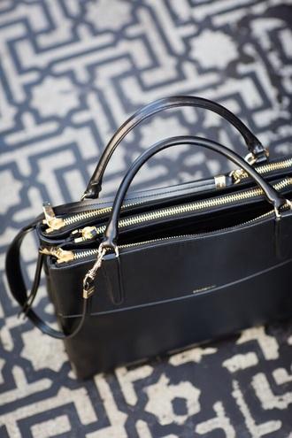 bag black bag zips