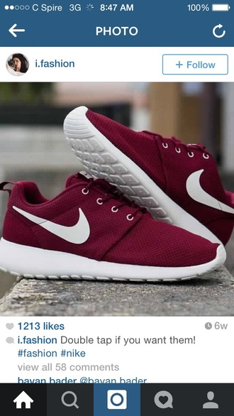 shoes red shoes red roshe runs