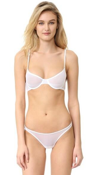bra new white underwear
