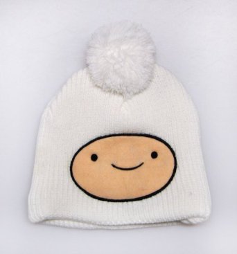Amazon.com: Adventure Time Finn Face Knit Beanie: Clothing