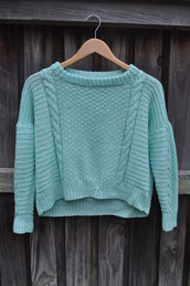 sweater,blue,cable knit,winter outfits,shirt,top