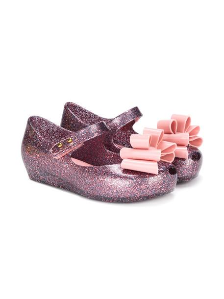 MINI MELISSA bow purple pink shoes