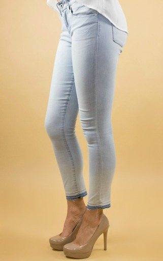 Articles Of Society | Carly Crop Skinny in Topaz