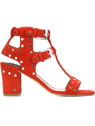 studded women sandals studded sandals leather suede red shoes