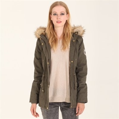 Parka d'hiver kaki - Collection Parka - Pimkie France
