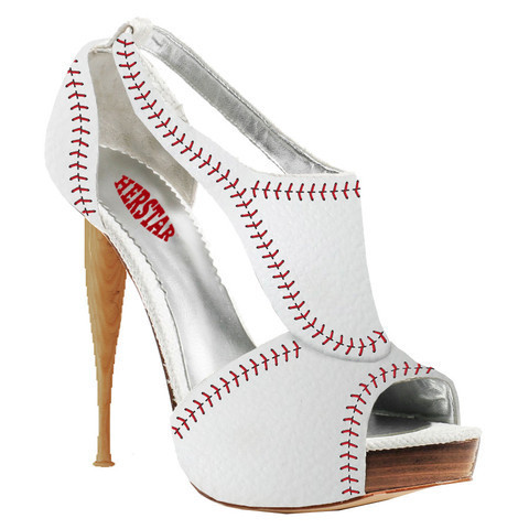 HERSTAR™ Women's Baseball High Heel (baseball high heels, baseball shoes, baseball womens apparel) | Novelty Heels | HERSTAR
