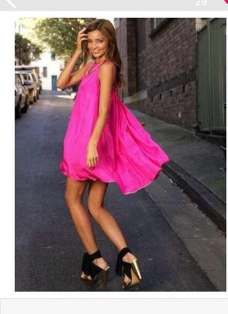 dress pink pink dress cute miranda kerr cute dress flowy