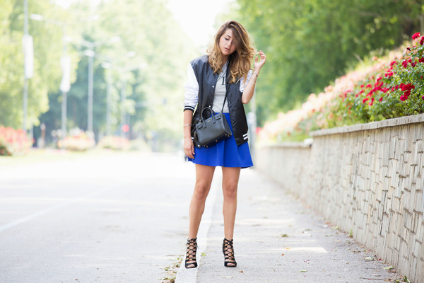 scent of obsession jacket skirt bag shoes jewels