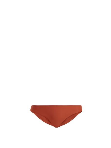 JADE Swim bikini dark orange swimwear