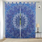 home accessory,multimatecollection,indian tapestries,shower curtain,black and gold curtain tie,window curtains,door curtain,bohemian,wall decor tapestries