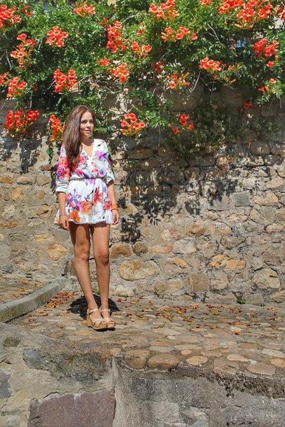 romper floral romper zaful blogger blogger style platform sandals sandals