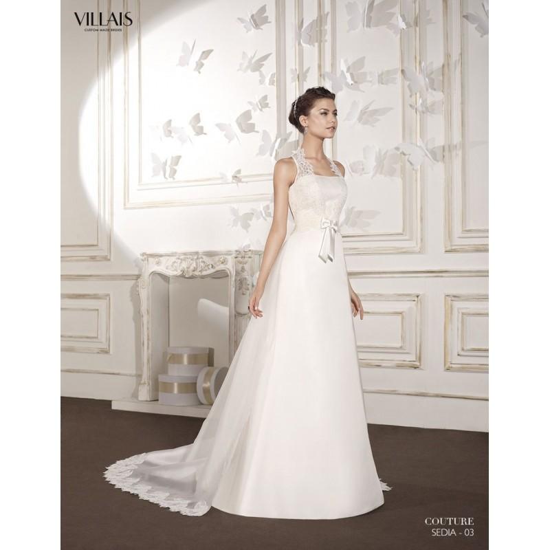sedia (villais) - vestidos de novia 2018 | vestidos de novia barato