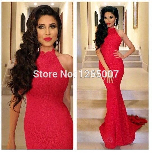 Aliexpress.com : Buy 2014 Round Neck One Long Sleeves Sparkly Shiny Beaded Slit Mermaid Fashion Prom Dress 2014 Sexy Maxi Long Dress from Reliable dress designs for women suppliers on SFBridal