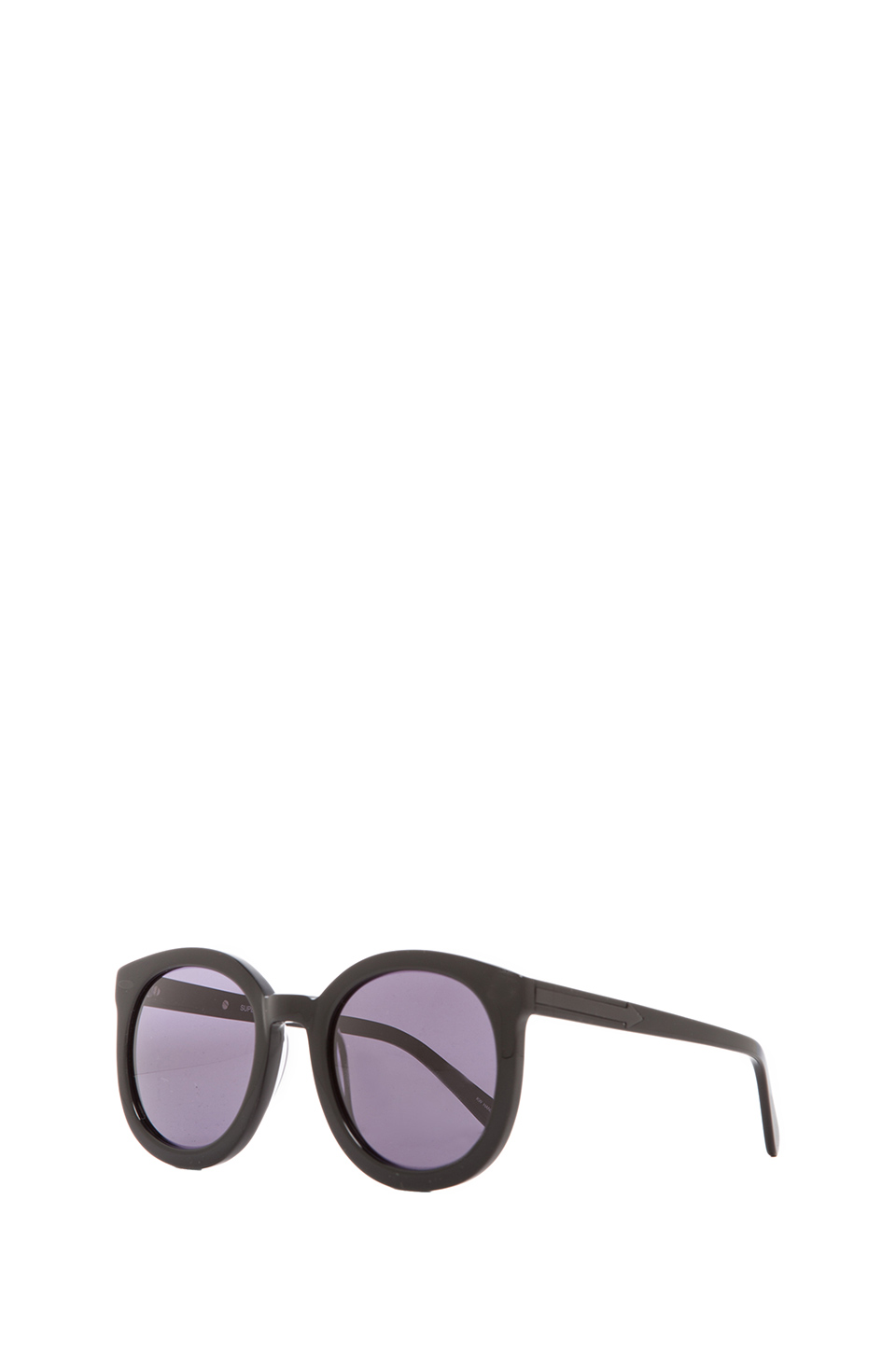Karen Walker Super Duper Strength in Black from REVOLVEclothing.com