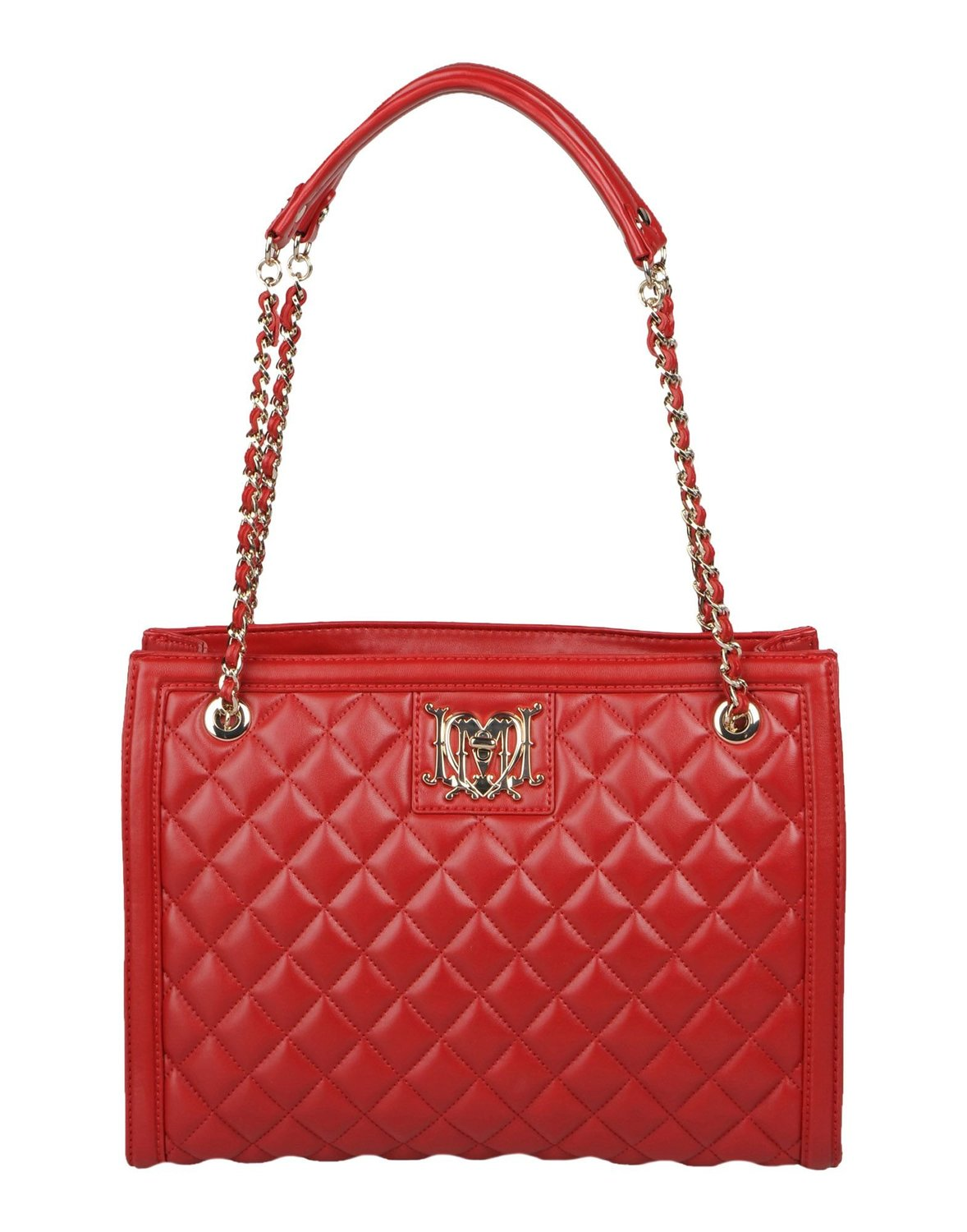 Buy LOVE Moschino Quilted Mini Crossbody Bag, Red at Amazon.in