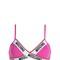 Jersey triangle bra