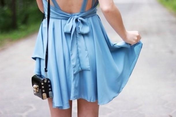dress blue light