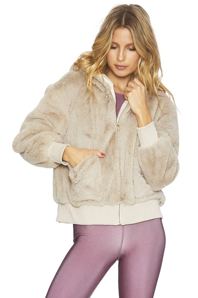 Fuzzy Jacket Ivory