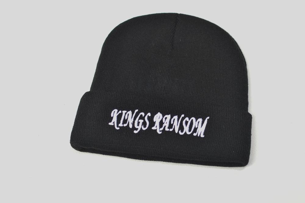 Black Beanie / Kings Ransom Apparel