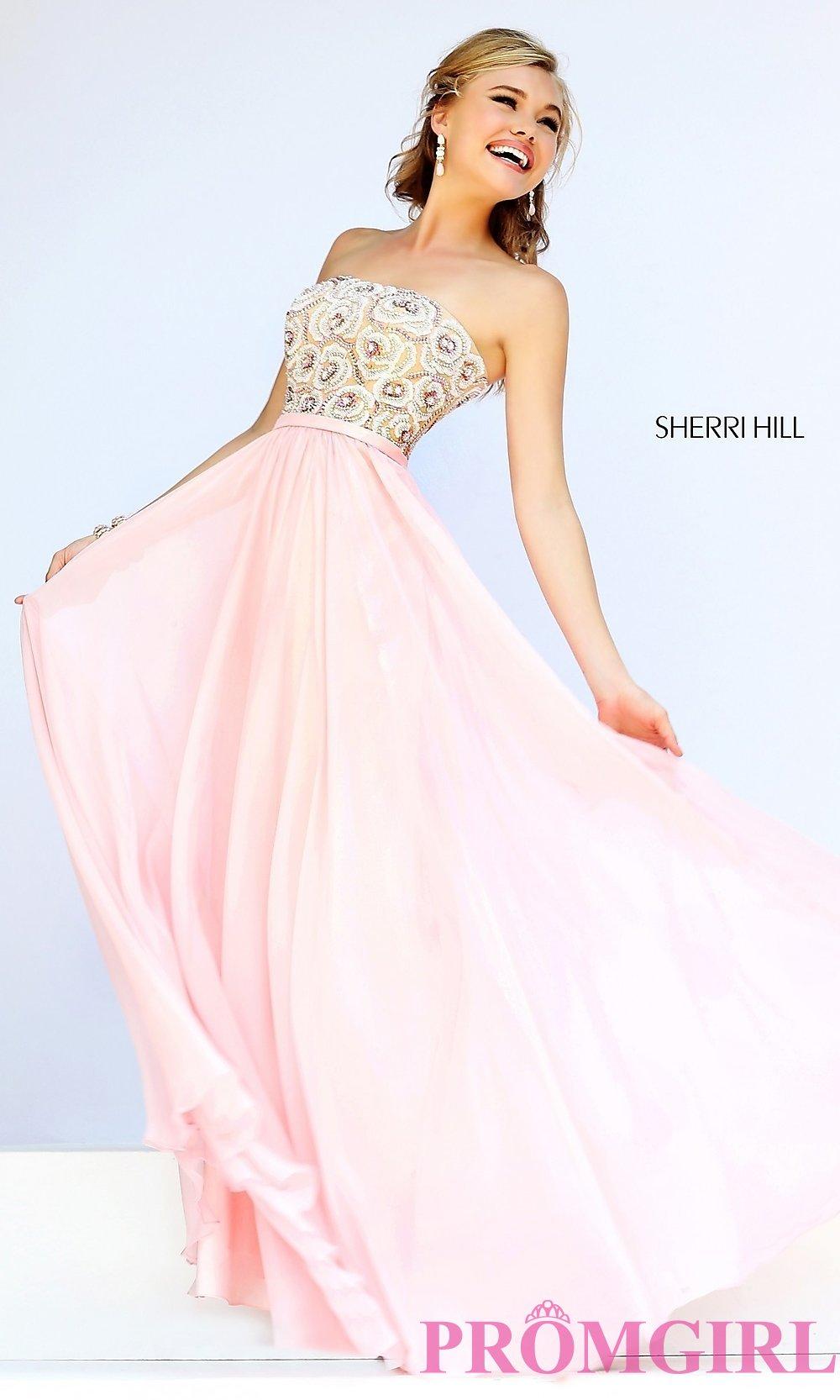 sherri hill long prom dresses