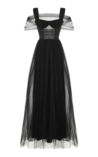 Tulle Gown by Rasario   Moda Operandi