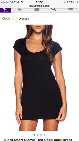 dress black dress clothes black casual basic trendy fashion style summer lbd dress little black dress beautifulhalo