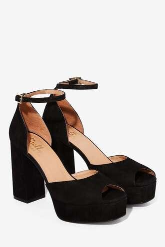 shoes heels peep toe heels