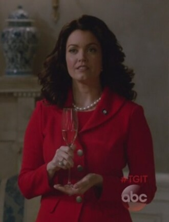 jacket red blazer scandal mellie grant bellamy young