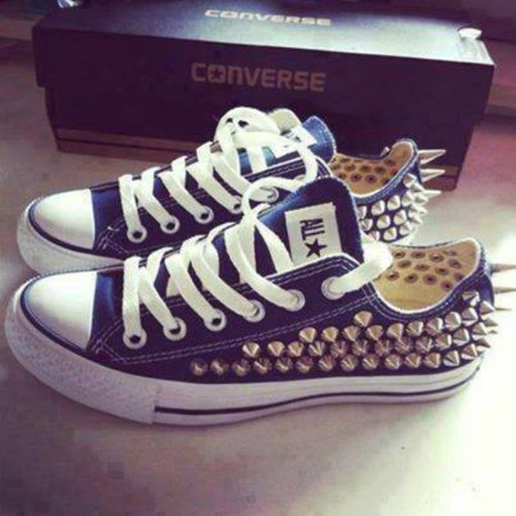 shoes spikes converse