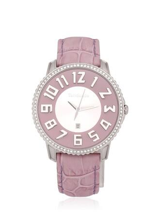 classic watch purple jewels