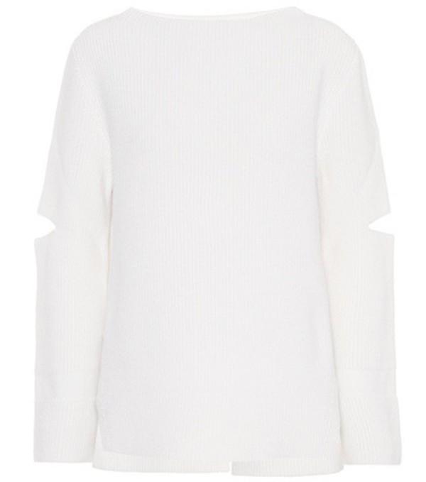 Stella McCartney Wool sweater in white