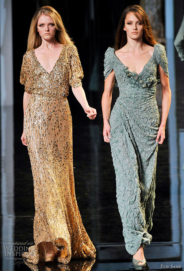 Elie Saab Fall/Winter 2010/2011 Couture | Wedding Inspirasi