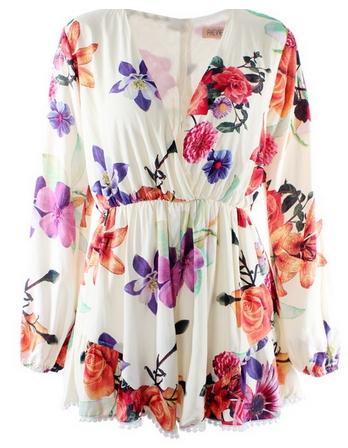Love Me Floral Playsuit