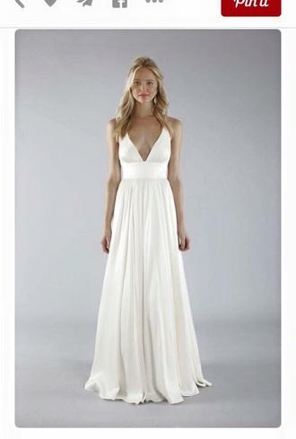 dress white wedding grad